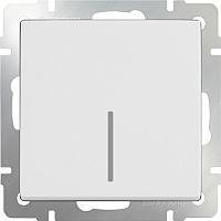 Выключатель Werkel WL01-SW-1G-2W-LED / a030765 (белый) -