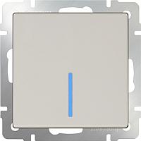 Выключатель Werkel WL03-SW-1G-2W-LED / a030804 (слоновая кость) -