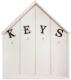 Ключница настенная Grifeldecor Домик Keys / BZ192-4W265 -