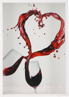 Копилка для пробок Grifeldecor Брызги вина / BZ182-3C252