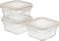 Набор контейнеров Glasslock GL-1108  (3шт) -