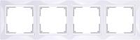 Рамка для выключателя Werkel Basic WL03-Frame-04 / a036628 -