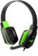 Наушники-гарнитура Defender Warhead G-320 / 64032 (черный/зеленый) -