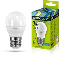 Лампа Ergolux LED-G45-7W-E27-4K / 12145 -