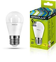 Лампа Ergolux LED-G45-9W-E27-3K / 13176 -