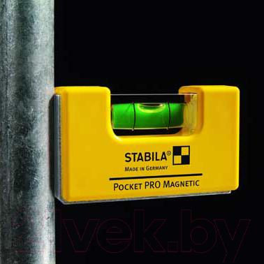 Уровень строительный Stabila Pocket Pro Magnetic 17768