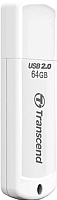 Usb flash накопитель Transcend JetFlash 370 64GB White (TS64GJF370) -