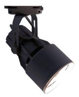 Трековый светильник Arte Lamp Lyra A6252PL-1BK -