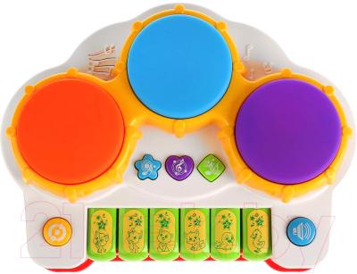 Развивающая игрушка Умка Музыкальный барабан / B1298815-R