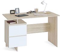 Письменный стол Сокол-Мебель СПМ-19 (дуб сонома/белый) -