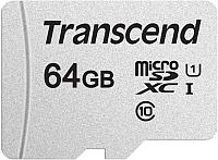 Карта памяти Transcend microSDXC 64GB UHS-I V30 (TS64GUSD300S) -