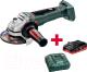 Профессиональная угловая шлифмашина Metabo WB18 LTX BL 125 Quick (TO336) -