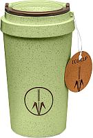 Термокружка Walmer Eco Cup / W24201802 (зеленый) -