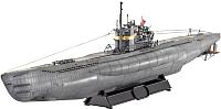 Сборная модель Revell Немецкая подводная лодка TYPE VII C/41 1:144 / 05100 -