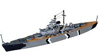 Сборная модель Revell Линейный корабль Бисмарк 1:1200 / 05802 -