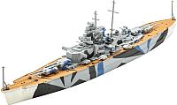 Сборная модель Revell Немецкий линкор Tirpitz 1:1200 / 05822 -