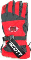 Перчатки лыжные No Brand JSD-040 (красный) -