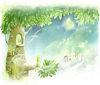 Фотообои Citydecor Сказочное дерево (300x254) -