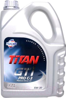 Моторное масло Fuchs Titan GT1 Pro C3 5W30 / 601426384 (5л)