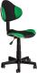 Кресло детское Седия Miami (черный/зеленый) -