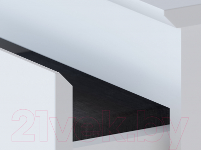 Комод Сокол-Мебель Т-3Р (белый)
