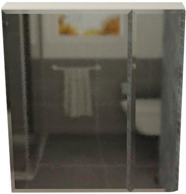 Шкаф с зеркалом для ванной Vela Фаворит 70-2 / 01221070