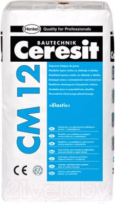 Клей для плитки Ceresit CM 12 Express (25кг)