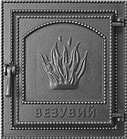 Дверца печная Везувий 211 (антрацит) -