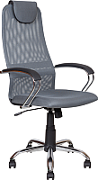 Кресло офисное Алвест AV 142 CH (черный/серый/темно-серый) -