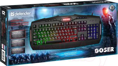 Клавиатура Defender Goser GK-772L USB / 45772