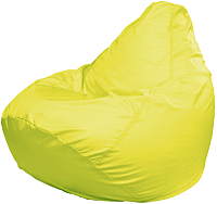 Бескаркасное кресло Flagman Груша Макси Г2.1-07 (желтый) -