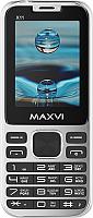 Мобильный телефон Maxvi X11 (Metallic silver) -