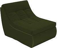 Модуль мягкий Лига Диванов Холидей Модуль / 101917 (микровельвет зеленый) -
