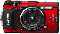 Компактный фотоаппарат Olympus TG-5 + чехол / V104190RE010 (красный) -