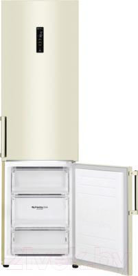 Холодильник с морозильником LG GA-B509BEHZ