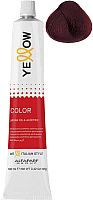 Крем-краска для волос Yellow Color тон 5.66 (100мл) -