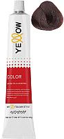 Крем-краска для волос Yellow Color тон 7.35 (100мл) -