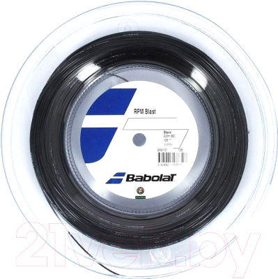 Струна для теннисной ракетки Babolat Rpm Blast / 243101-105- 130 (200м, черный)