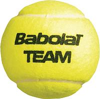 Набор теннисных мячей Babolat Team / 502035 (4шт, желтый) -