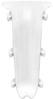 Уголок для плинтуса Ideal Система 001 Белый (внутренний) -