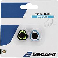 Виброгаситель для теннисной ракетки Babolat Sonic Damp X2 / 700039-175 (2шт, синий/желтый) -