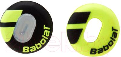 Виброгаситель для теннисной ракетки Babolat Custom Damp X2 / 700040-142 (2шт, черный/желтый)