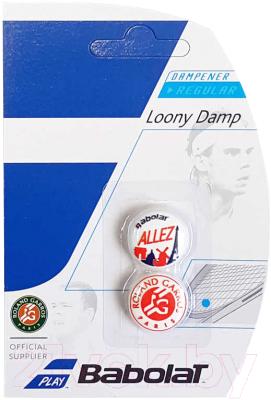 Виброгаситель для теннисной ракетки Babolat Allez Dampener Loony X2 / 700043-134 (2шт, разноцветный)
