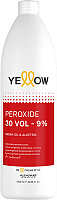 Крем для окисления краски Yellow Peroxide 30 Vol 9% (1л) -