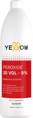 Крем для окисления краски Yellow Peroxide 30 Vol 9% (1л)