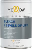 Порошок для осветления волос Yellow Bleach 7 тонов (500г) -