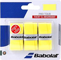 Грип для большого тенниса Babolat Pro Tour X3 / 653037- 113 (3шт, жёлтый) -