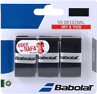 Овергрип Babolat VS Grip Original / 653040-105 (3шт, черный) -