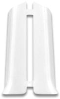 Заглушка для плинтуса Ideal Система 001 Белый (2шт) -