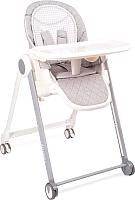 Стульчик для кормления Happy Baby Berny Basic New / 91002 (light grey) -